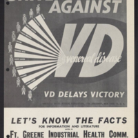"""Unite the Whole Community Against VD"" (Fort Greene)"