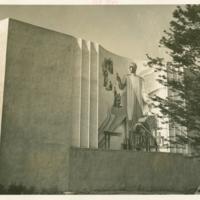"""Research"" (Medicine & Public Health Building Mural)"