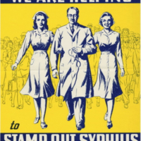 """We Are Helping to Stamp Out Syphilis"""