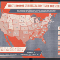 """First 2,000,000 Selectees Blood Tested for Syphilis"""