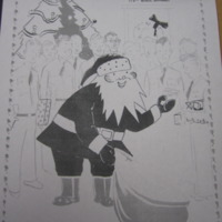 1940* Santa Delivering Pro Packets.jpg
