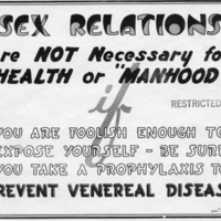 """Sex Relations Are NOT Necessary for HEALTH of 'MANHOOD'"""
