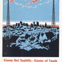 """""""Stamp Out Syphilis--Enemy of Youth"""""""